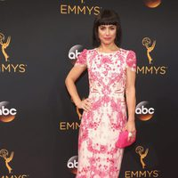 Constance Zimmer at the Emmys 2016 red carpet