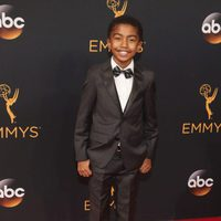 Miles Brown at the Emmys 2016 red carpet
