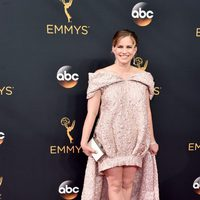 Anna Chlumsky at Emmy 2016 red carpet
