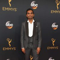 Aziz Ansari at Emmy 2016 red carpet