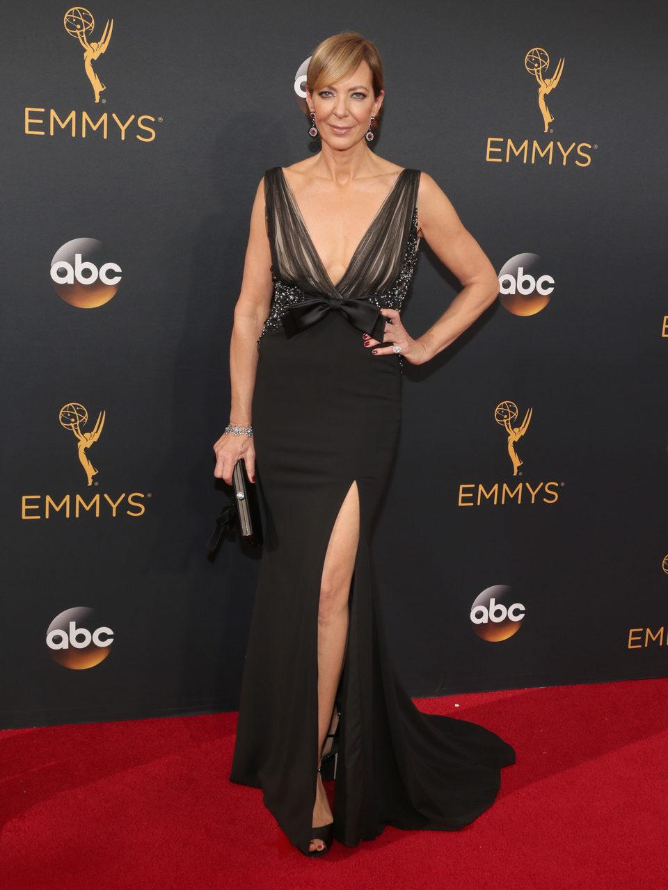 Allison Janney at Emmy 2016 red carpet