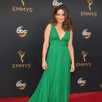 Tina Fey at Emmy 2016 red carpet
