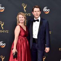 Derek Cecil at Emmy 2016 red carpet