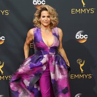 Alexandra Billings at Emmys 2016 red carpet