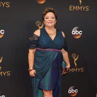 Sol Miranda at Emmys 2016 red carpet