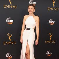 Aimee Teegarden at Emmys 2016 red carpet