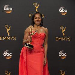 Reging King poses after Emmys 2016