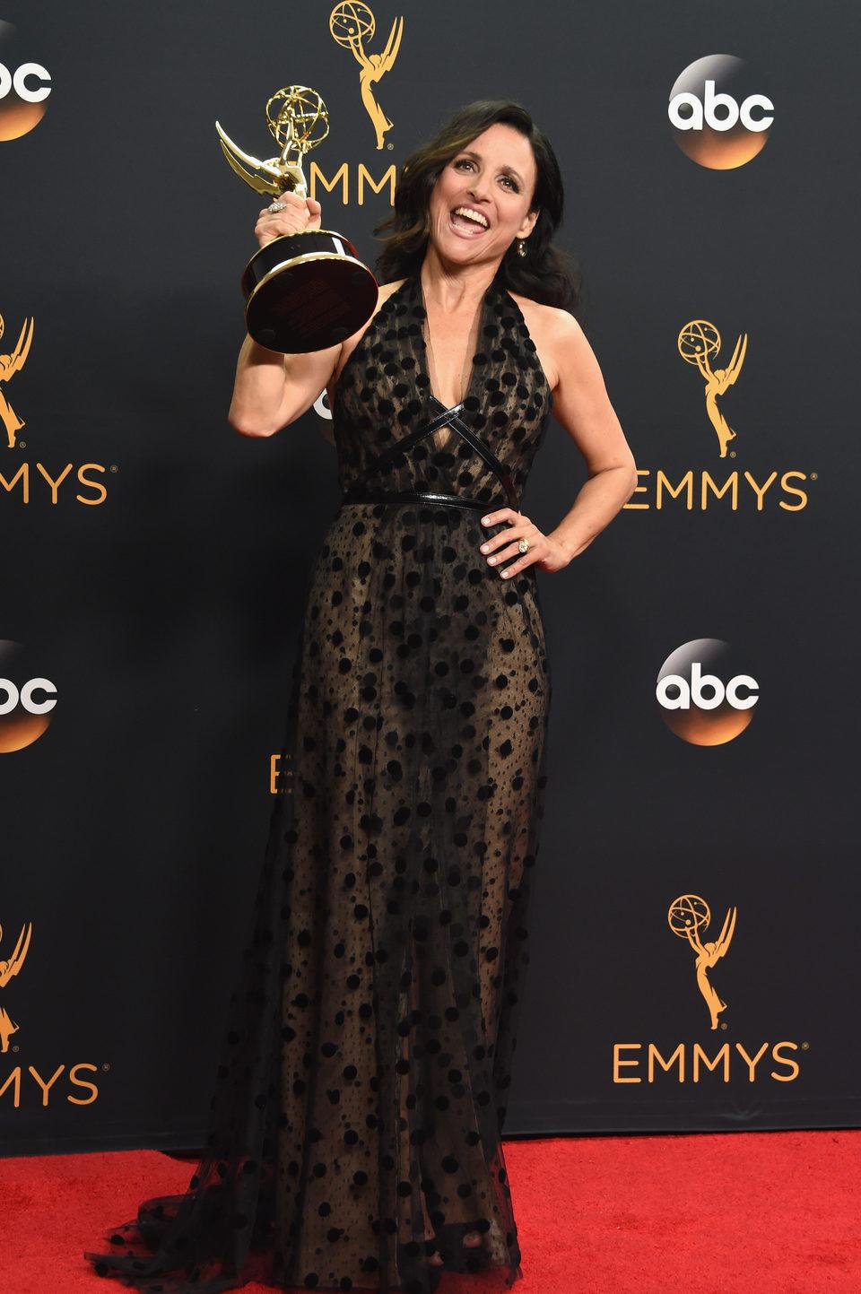 Julia Louis-Dreyfus after Emmys 2016