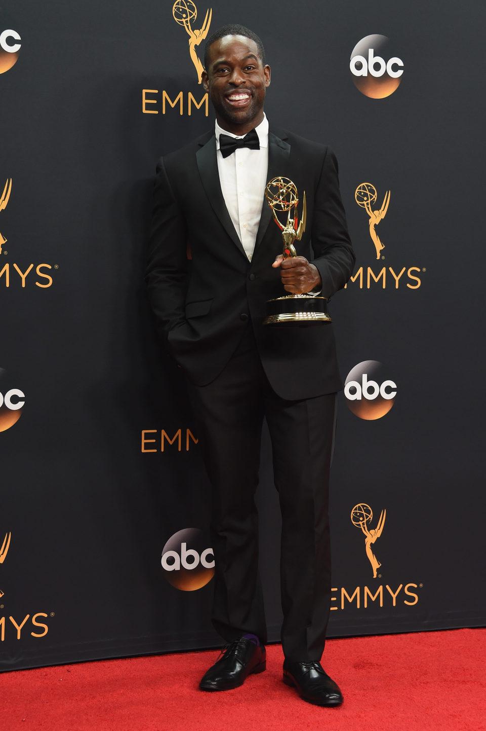 Sterling K. Brown after Emmys 2016