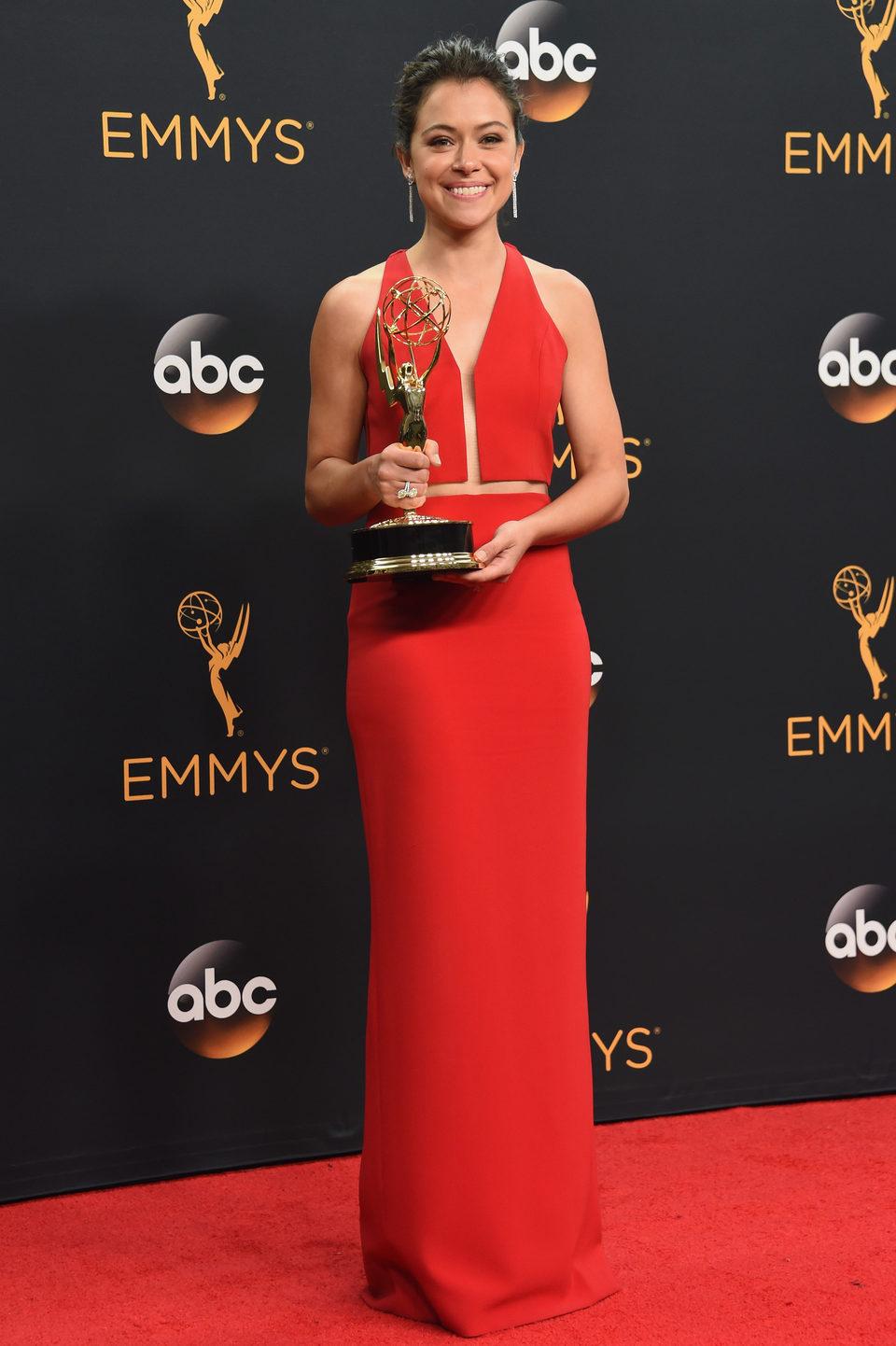 Tatiana Maslany after Emmys 2016