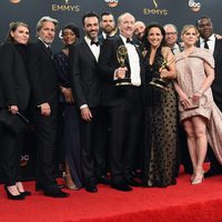 Cast and crew of 'Veep' after Emmys 2016