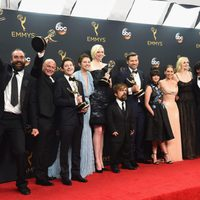 Cast and crew of 'Game of Thrones' after Emmys 2016