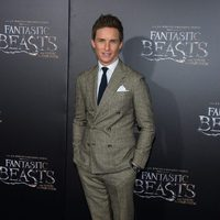 Eddie Redmayne at the world premiere of 'Fantastic Beasts and Where to Find Them'