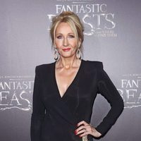 J.K.K Rowling at the world premiere of 'Fantastic Beasts and Where to Find Them'