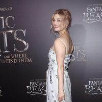 Alison Sudol at the world premiere of 'Fantastic Beasts and Where to Find Them'.
