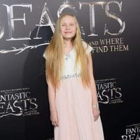 Faith Wood-Blagrove at the world premiere of 'Fantastic Beasts and Where to find Them'