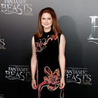 Bonnie Wright at the world premiere of 'Fantastic Beasts and Where to find Them'