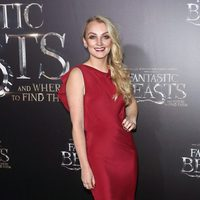 Evanna Lynch at the world premiere of 'Fantastic Beasts and Where to Find Them'