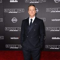 Alan Tudyk, K-2SO in 'Rogue One', during the premiere of the movie