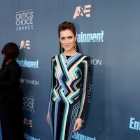 The actress Allison Williams fron 'Girls' in Critics Choice Awards