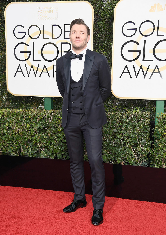 Joel Edgerton at the 2017 Golden Globes red carpet
