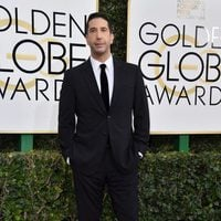 David Schwimmer at the 2017 Golden Globes red carpet