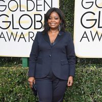 Octavia Spencer at Golden Globes 2017 red carpet