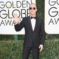 Michael Keaton at the 2017 Golden Globes red carpet
