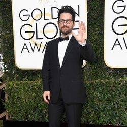 J.J. Abrams at the 2017 Golden Globes red carpet