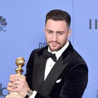 Aaron Taylor-Johnson after Golden Globes 2017