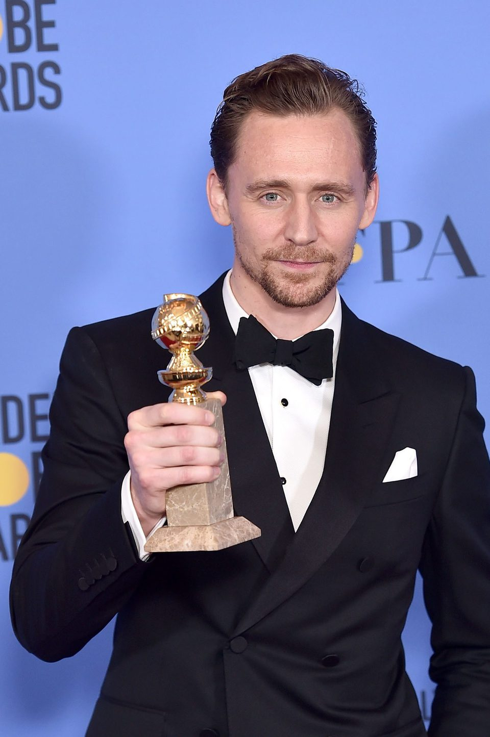 Tom Hiddleston after Golden Globes 2017