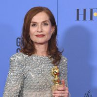 Isabelle Huppert after Golden Globes 2017