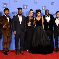 'Atlanta' cast and crew after Golden Globes 2017