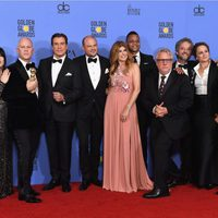 'American Crime Story' crew and cast after Golden Globes 2017