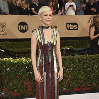 Michelle Williams on the red carpet of SAG Awards 2017