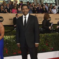 Denzel Washington on the red carpet of SAG Awards 2017