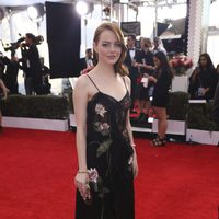 Emma Stone on the red carpet of SAG Awards 2017