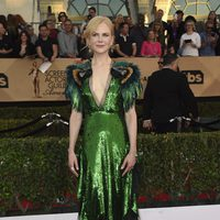 Nicole Kidman on the red carpet of SAG Awards 2017