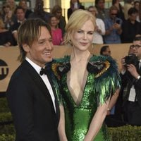 Nicole Kidman and Keith Urban on the red carpet of SAG Awards 2017