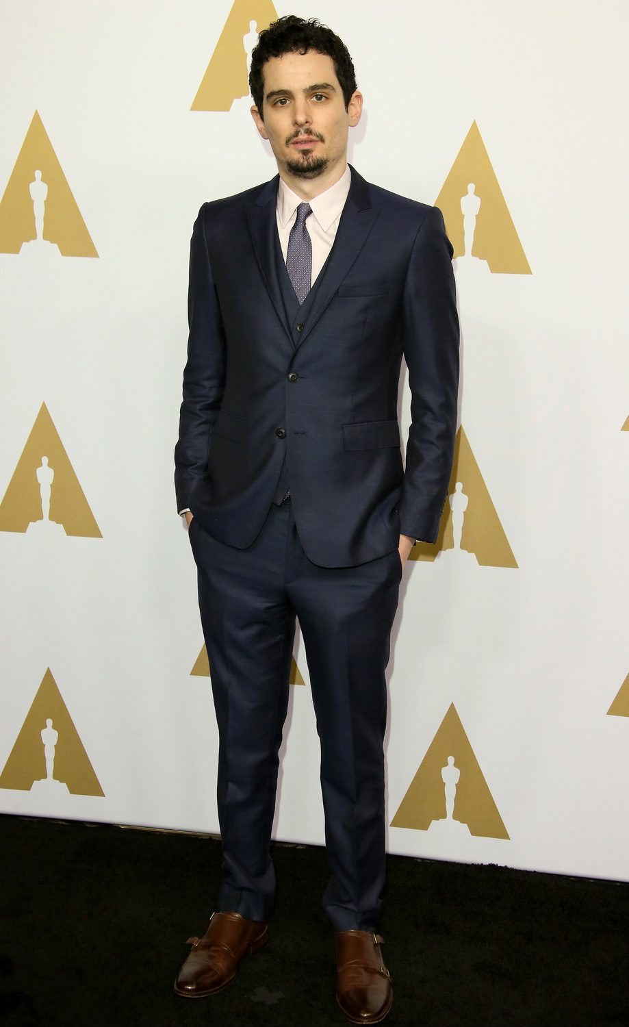 Damien Chazelle at the 2017 Annual Academy Awards Nominee Luncheon