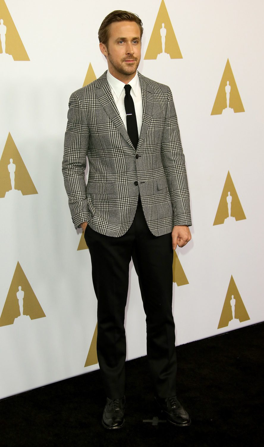 Ryan Gosling at the 2017 Annual Academy Awards Nominee Luncheon