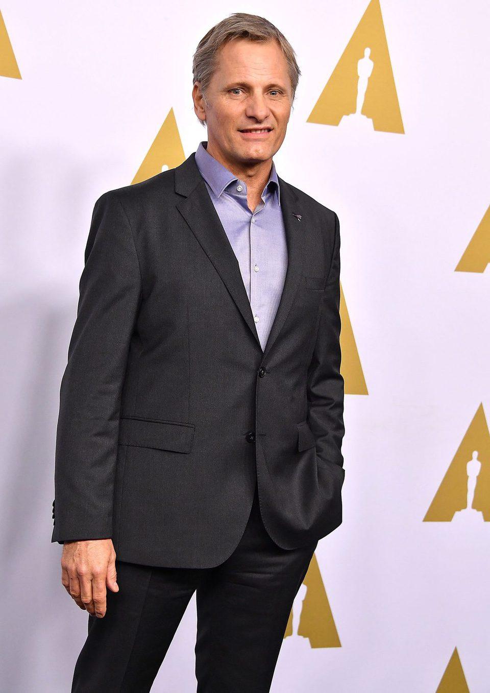 Viggo Mortensen at the 2017 Annual Academy Awards Nominee Luncheon