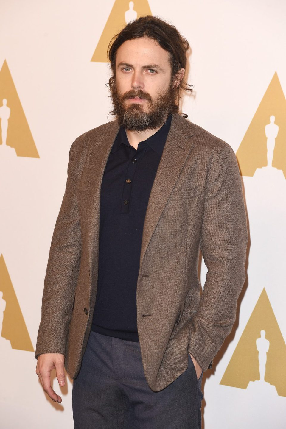 Casey Affleck at the 2017 Annual Academy Awards Nominee Luncheon