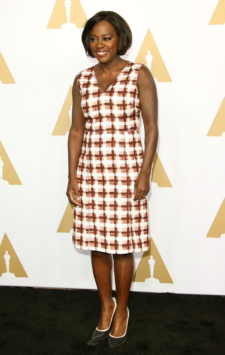 Viola Davis at the 2017 Annual Academy Awards Nominee Luncheon