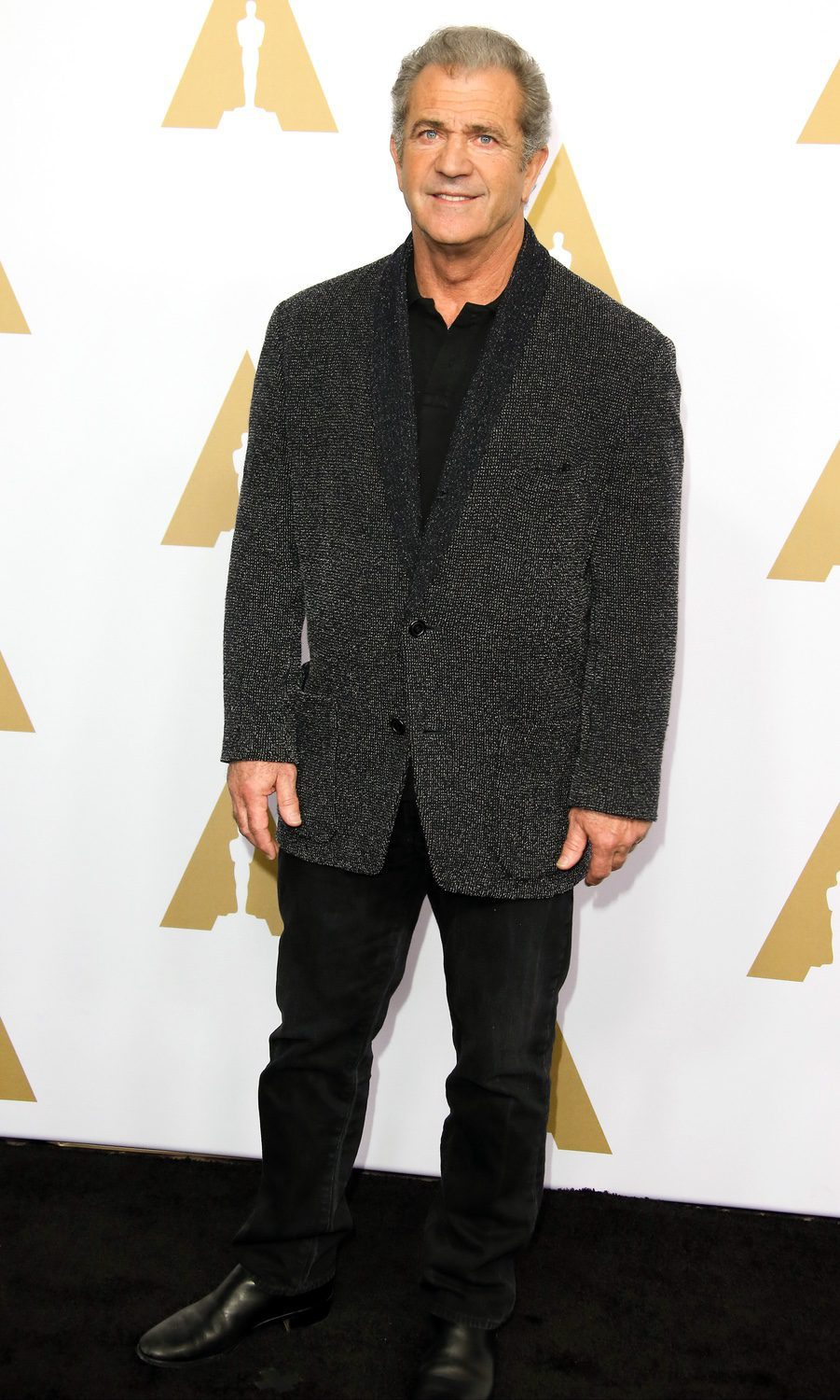 Mel Gibson at the 2017 Annual Academy Awards Nominee Luncheon