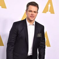Matt Damon at the 2017 Annual Academy Awards Nominee Luncheon