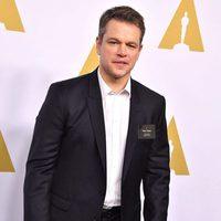 Matt Damon at the 2017 Annual Academy Awards Nominee Luncheon