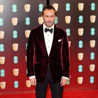 The director of 'Nocturnal Animals', Tom Ford,  at the red carpet of BAFTA 2017