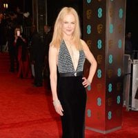 The nominee Nicole Kidman at the red carpet BAFTA 2017