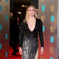 Sophie Turner at the red carpet BAFTA 2017
